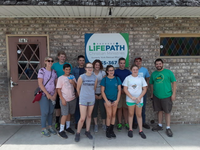 More than a soup kitchen: Church's youth learns a lot while volunteering at LifePath 1