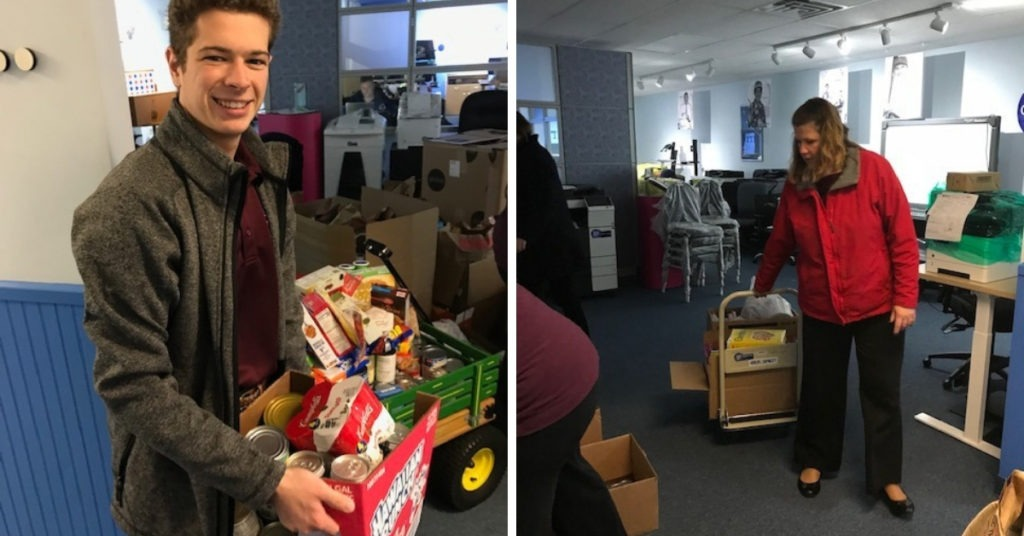 Fall Food Drive thanks to Quality Digital Office Technology