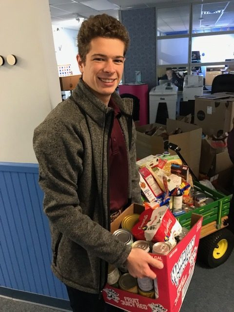 Fall Food Drive thanks to Quality Digital Office Technology 1
